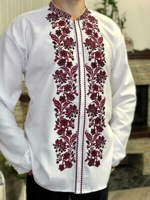 Вишиванка, чоловіча вишита сорочка (Арт. 02655)