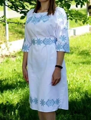 Вишиванка, жіноча вишивана сукня (Арт. 02670)