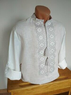 Вишиванка, чоловіча вишита сорочка (Арт. 02680)