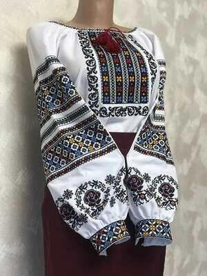 Вишиванка, жіноча вишивана блузка (Арт. 02704)