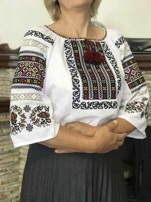 Вишиванка, жіноча вишивана блузка (Арт. 02707)