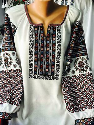 Вишиванка, жіноча вишивана блузка (Арт. 02778)