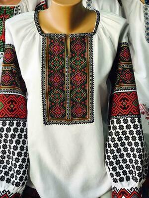 Вишиванка, жіноча вишивана блузка (Арт. 02779)