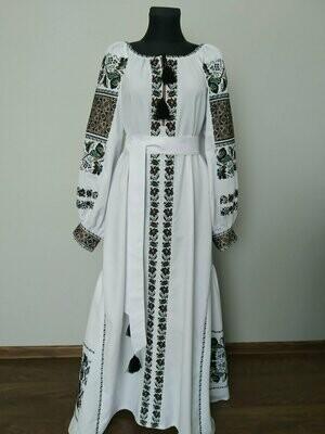 Вишиванка, жіноча вишивана сукня (Арт. 02782)