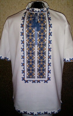 Вишиванка, чоловіча вишита сорочка (Арт. 02781)