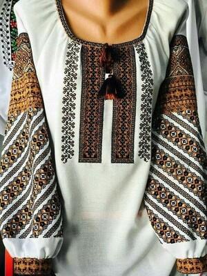 Вишиванка, жіноча вишивана блузка (Арт. 02819)
