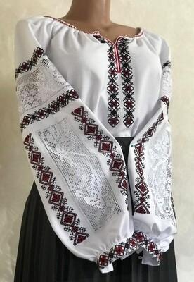 Вишиванка, жіноча вишивана блузка (Арт. 02828)