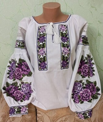 Вишиванка, жіноча вишивана блузка (Арт. 02834)