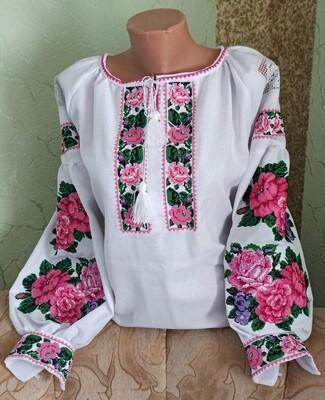 Вишиванка, жіноча вишивана блузка (Арт. 02833)