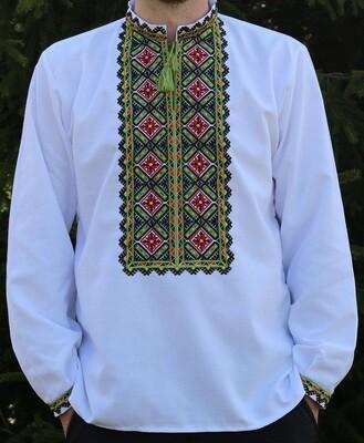 Вишиванка, чоловіча вишита сорочка (Арт. 02851)