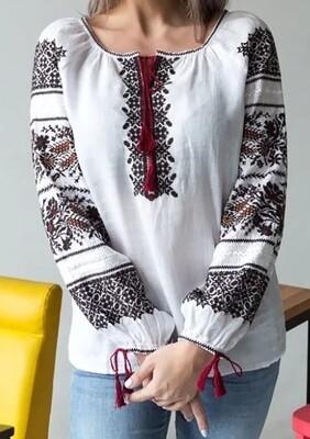 Вишиванка, жіноча вишивана блузка (Арт. 02876)