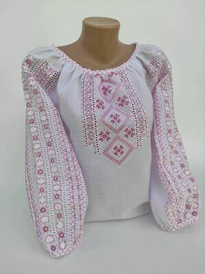 """Вишиванка, жіноча вишивана блузка ручної роботи """"МЕРЕЖКА"""" (Арт. 02884)"""