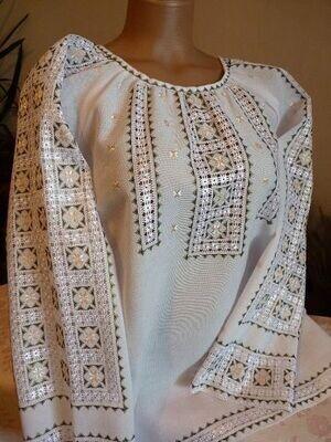 """Вишиванка, жіноча вишивана блузка """"Вірна подруга"""" (Арт. 02897)"""