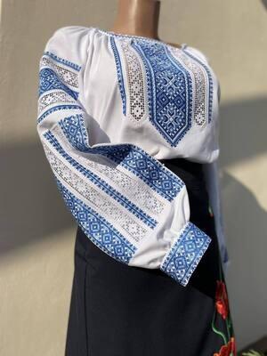 Вишиванка, жіноча вишивана блузка (Арт. 02914)