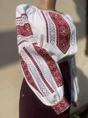 Вишиванка, жіноча вишивана блузка (Арт. 02915)