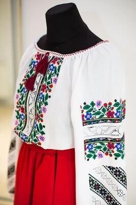 Вишиванка, жіноча вишивана блузка (Арт. 02919)