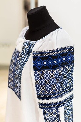 Вишиванка, жіноча вишивана блузка (Арт. 02918)