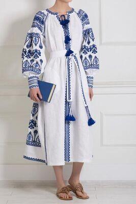 "Вишиванка жіноча, сукня вишивана ""Бохо"" (Арт. 02891)"