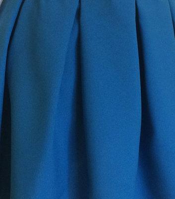 "Тканина для машинної вишивки ""Габардин"" синього кольору Арт. 01511"