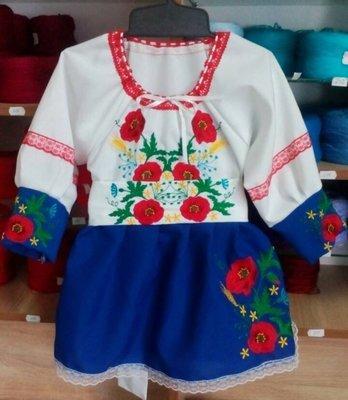 Сукня вишивана для дівчинки (Арт. 02005)