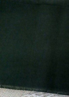 Домоткане полотно (30-ка) гребінне темно-зеленого кольору, бавовна 50%, льон 50% (Арт. 02020)