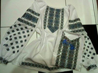 Пара вишиванок, жіноча та чоловіча вишиванка - комплект вишиванок для чоловіка і жінки (Арт. 02036)