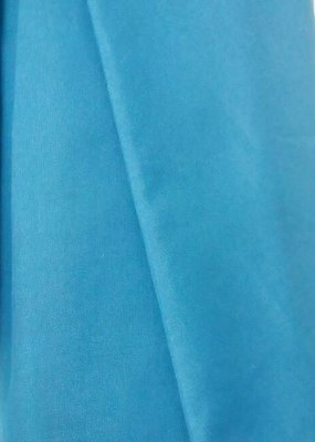 Домоткане полотно з лавсаном № 30 бірюзового кольору
