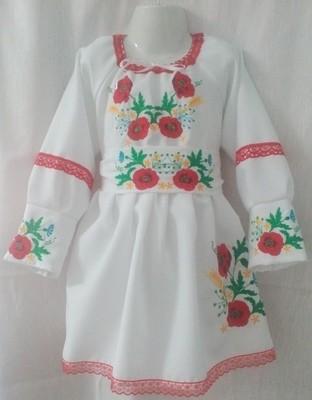 Сукня вишивана для дівчинки (Арт. 00952)