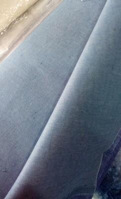 Домоткане полотно блакитного (під джинс) кольору (Арт. 01625)