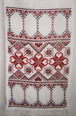 Рушник вишиваний на панамі (Арт. 00590)