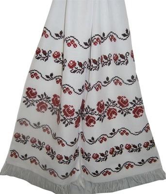 Рушник вишиваний  з квітами  (Арт. 00589)