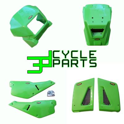87-07 Kawasaki KLR Complete Plastic Set Maier - NEW