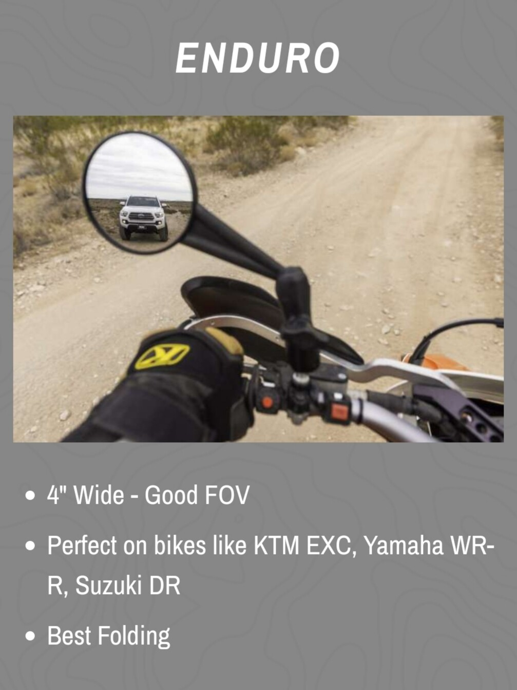 Doubletake Enduro Mirror Set