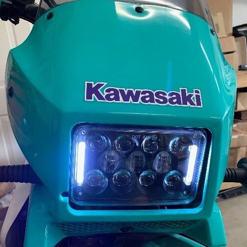 JNS Engineering KLR650 DOT LED Headlight Kit (1987-2007)