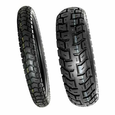 Motoz Tractionator GPS Tire Set ( 130/80-17 & 90/90-21)