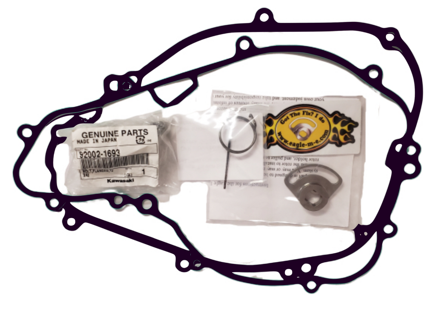 Eagle Mike Complete Doohickey Kit w/ Torsion Spring, Reusable Gaskets, Rotor Bolt
