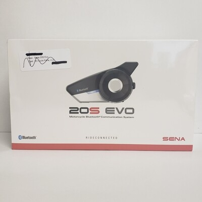 Sena 20S Evo Bluetooth Communication System Single