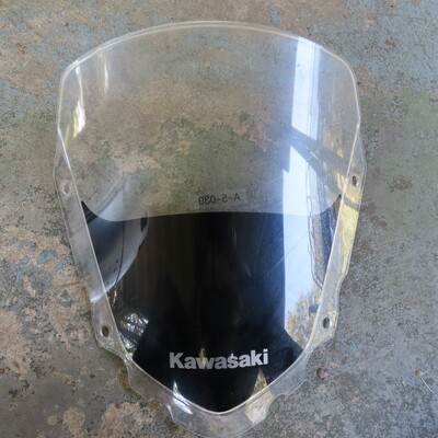KLR650 Stock Windshield 2008-2018