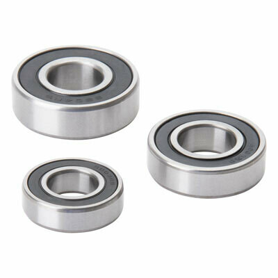 Tusk Rear Wheel Bearing and Seal Kit - KLR650 1987-2018
