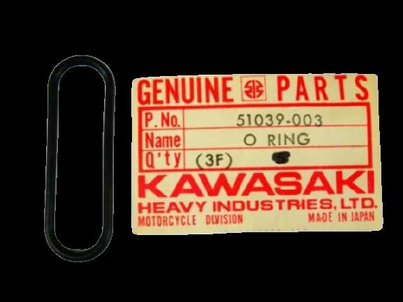 Petcock Flange O-Ring KLR650 1987-2018 OEM # 51039-003