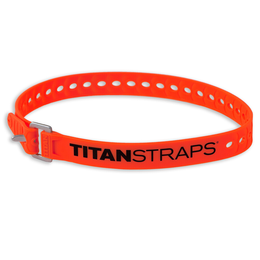 TITANSTRAPS® Utility Strap – 25″ Fluorescent Orange