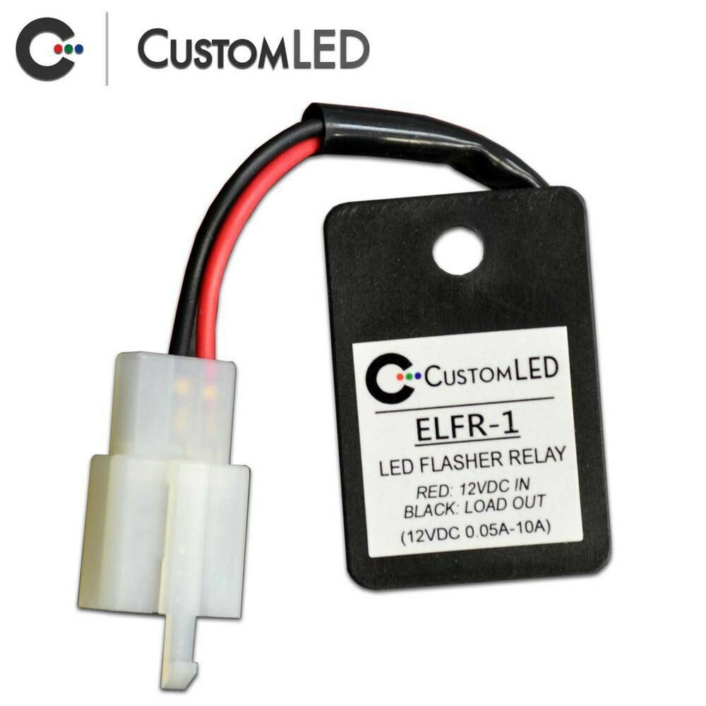 Electronic LED Flasher Relay with OEM Connector 2008-2018 KLR650