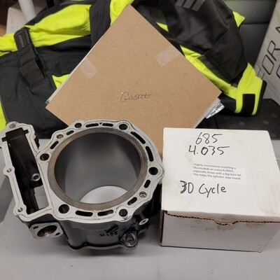 685 Piston and Machined Cylinder Kit 1987-2018 KLR650 - Black