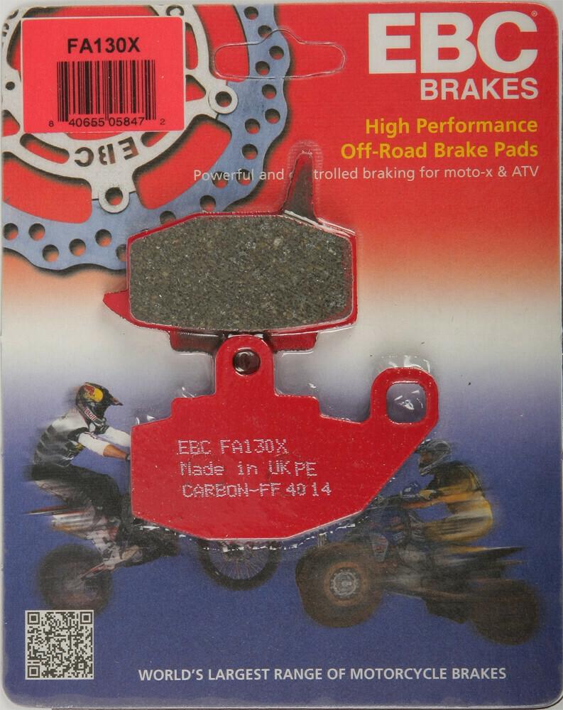 EBC Brake Pads - Carbon X Series Gen 1 (1987-2007) KLR 650