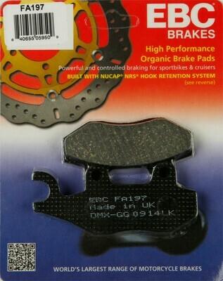 EBC Brake Pads - Organic Gen 2 (2008-2018) KLR 650
