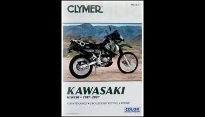 Clymer Repair Manual KLR650 1987-2007