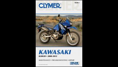 Clymer Repair Manual KLR650 2008-2018