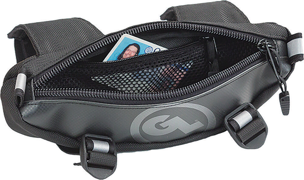 Giant Loop Zig Zag Handlebar Bag Black