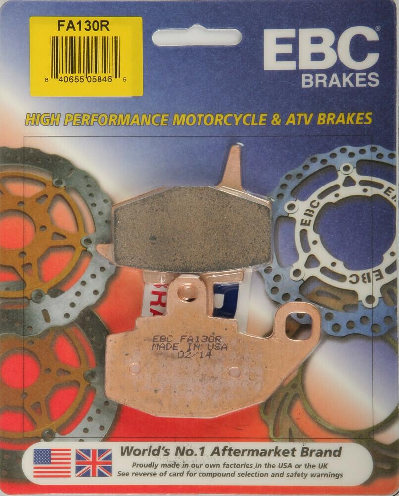 EBC Brake Pads - Sintered HH Gen 1 (1987-2007) KLR 650