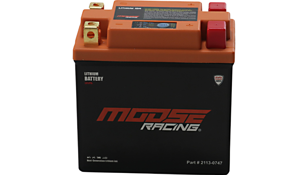 Moose Racing Lithium Ion Battery HUTX14AHQ-FP KLR650 1987-2018